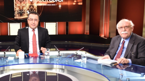 Minister Avcı attends live news program on TRT Haber