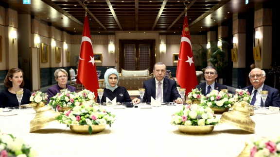 Minister Avcı participates in the dinner organized at the Presidential Complex in honor of Sancar