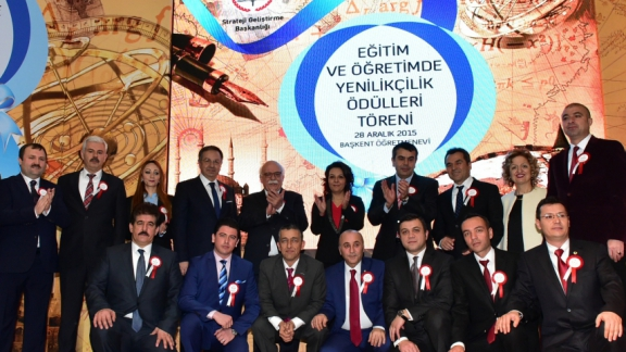 Minister Avcı presents Innovation in Education and Training Awards